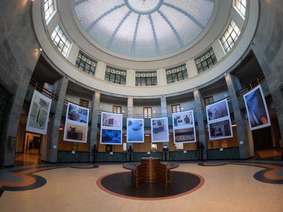 Manlio Capaldi. Lo spazio, qui, è il pensiero stesso. Exhibition view at Ex Palazzo delle Poste, Bari 2018