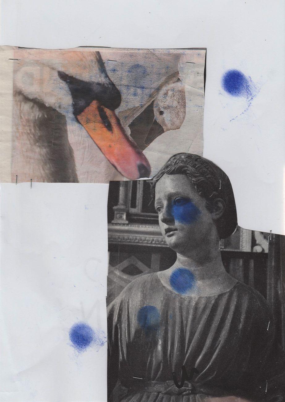 Marcello Maloberti, Marmellate, collage series, dettaglio, 2018. Courtesy l'artista & Galleria Raffaella Cortese, Milano