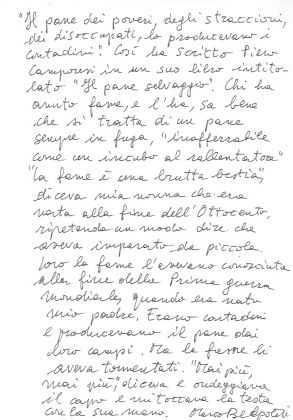 Buoni come il Pane, Marco Belpoliti