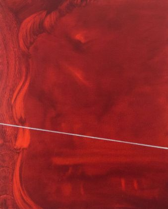 Marta Sforni, Mirror Fenice I, 2017, olio su tela, 76 x 62 cm