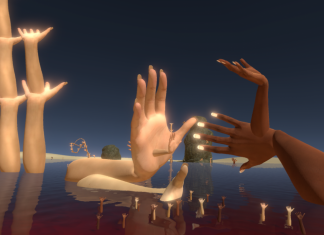 Mélodie Mousset, HanaHana FullBloom, 2018, virtual reality still. Courtesy the artist