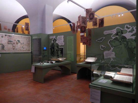 Meravigliose avventure. America. Installation view at Galleria Estense, Modena 2018