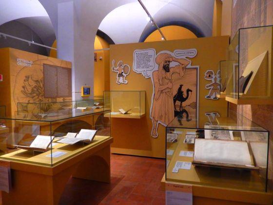 Meravigliose avventure. Vicino ed Estremo Oriente. Installation view at Galleria Estense, Modena 2018