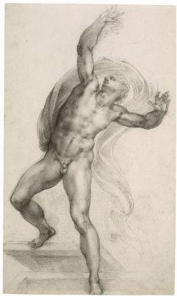 Michelangelo Buonarroti, Il Compianto del Cristo Morto, c.1540, Trustees of the British Museum
