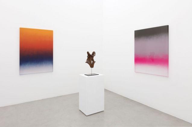 Mika Tajima. Ulterior. Exhibition view at Galleria Francesca Minini, Milano 2018