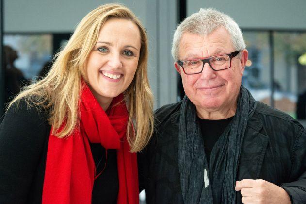 Milda Ivanauskiene e Daniel Libeskind