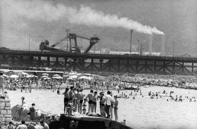 Mimmo Jodice, Spiaggia di Bagnoli, Napoli 1968