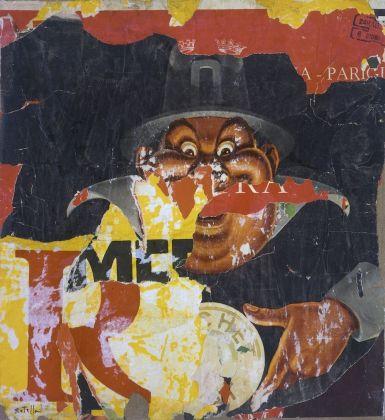 Mimmo Rotella, Le cachet, 1960. Collezione privata. Photo Courtesy Fondazione Marconi © 2018 Mimmo Rotella by SIAE