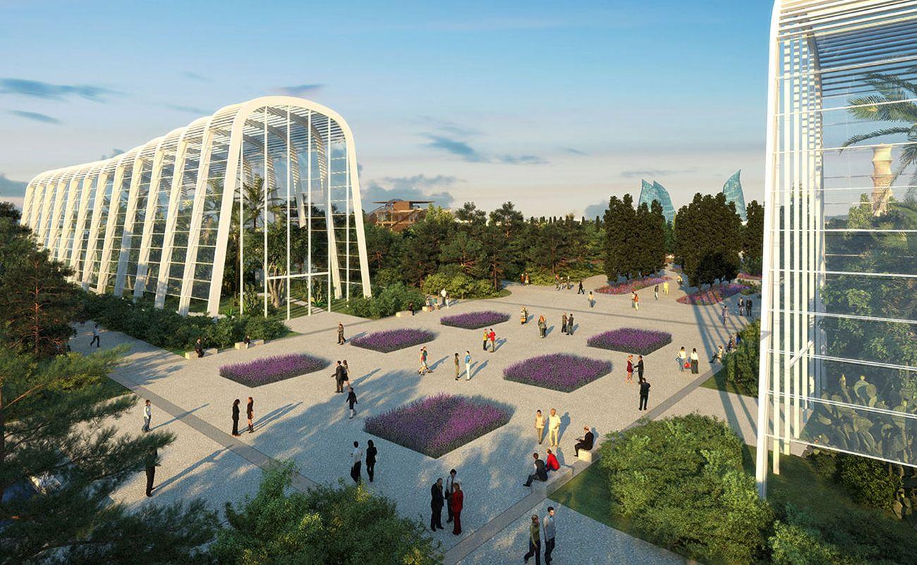 Naturalia, Baku, 2015. Render studioDIM associati. Courtesy AG&P greenscape