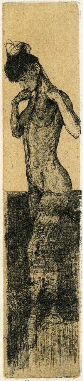 Nicola Samorì, Senza titolo, 2000. Museo Civico delle Cappuccine, Bagnacavallo Gabinetto delle Stampe