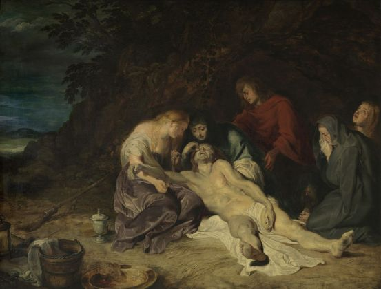 Peter Paul Rubens, The lamentation over the dead Christ with St. John and the Holy Women, 1614 Royal Museum of Fine Arts Antwerp © www.lukasweb.be - Art in Flanders vzw. Photo Hugo Maertens