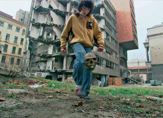 Paolo Canevari, Bouncing Skull, 2007, still da video