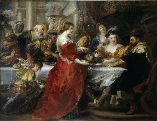 Peter Paul Rubens, Banchetto di Erode, 1635 38 ca. Edimburgo, National Galleries of Scotland