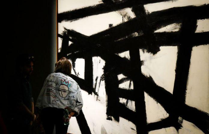 Pollock e la Scuola di New York. Exhibition view at Complesso del Vittoriano, Roma 2018. Photo Gianfranco Fortuna