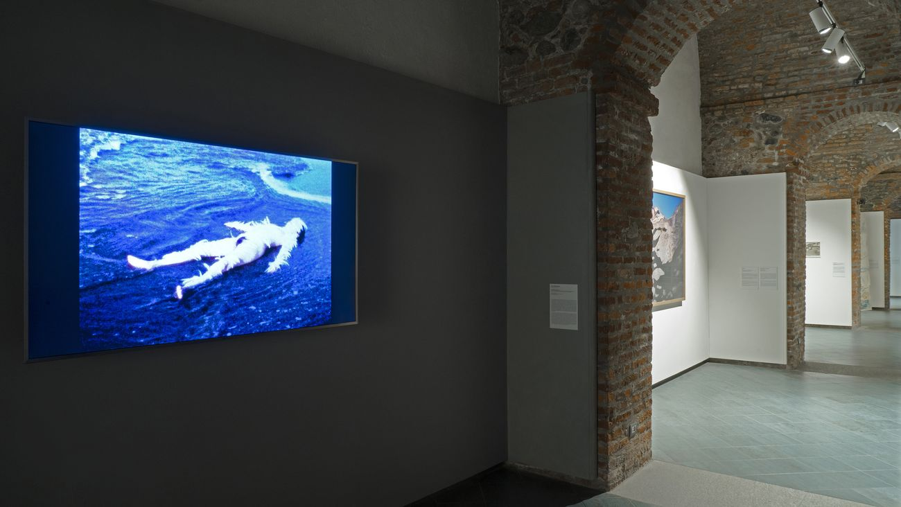 Post Water. Exhibition view at Museo Nazionale della Montagna, Torino 2018