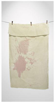 RE.USE. Michelangelo Pistoletto, Tovaglia sporca di vino