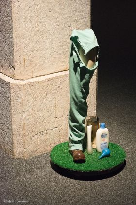 RE.USE. Paul McCarthy, Peter's Patrick Pecker leg
