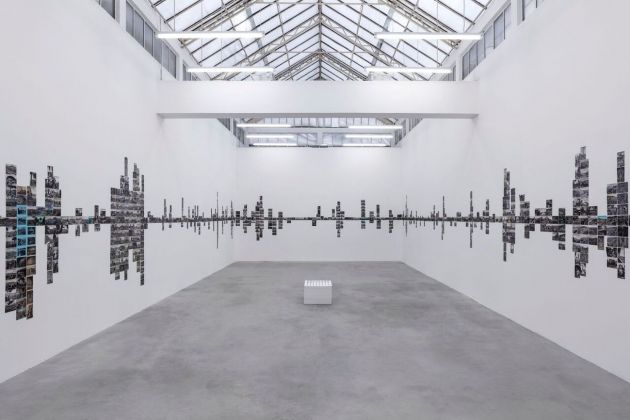 Rayyan Tabet, Road Trip. Installation view at Galleria Franco Noero, Torino 2018. Photo Sebastiano Pellion di Persano