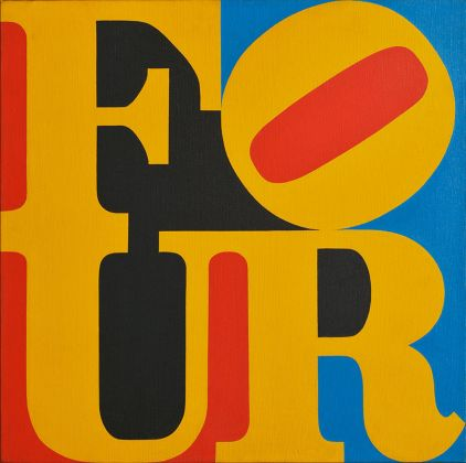 Robert Indiana, Four, 1965