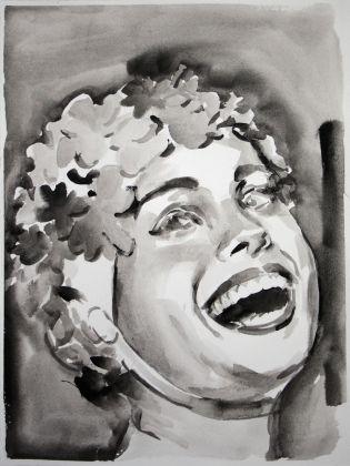 Romina Bassu, Rhapsody (#8), 2018, acquerello su carta, cm 40x30. Courtesy Studio SALES di Norberto Ruggeri, Roma