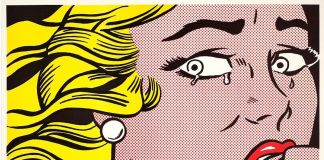 Roy Lichtenstein, Crying Girl, 1963 © Estate of Roy Lichtenstein - SIAE 2018