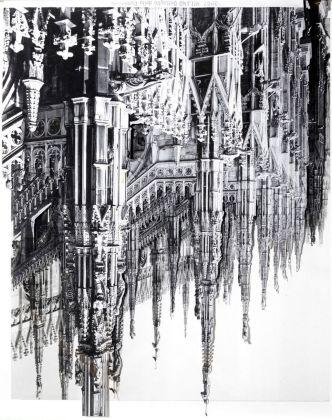 Søren Lose, Dystopic Deconstruction #3 (Milano), 2016. Courtesy Galleria Riccardo Crespi & the artist