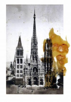 Søren Lose, Gothic Deconstruction #5 (Rouen), 2018. Courtesy Galleria Riccardo Crespi & the artist