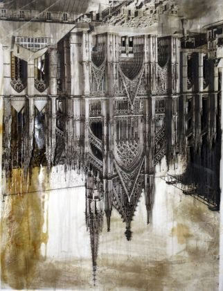 Søren Lose, Gothic Deconstruction #6 (Katyn, south portal), 2018. Courtesy Galleria Riccardo Crespi & the artist