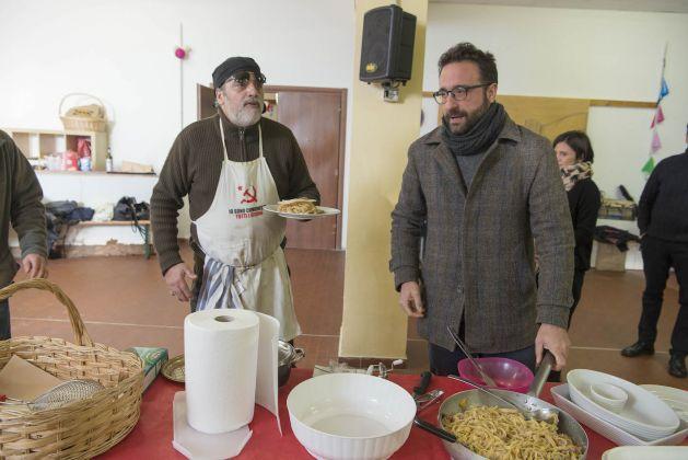 Presentazione Davide Ferri Alessandro Sarra. Ph. Giorgio Benni