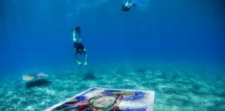 Salvo Galano, Passaggio a Sudest. Installation view at Ponza Island