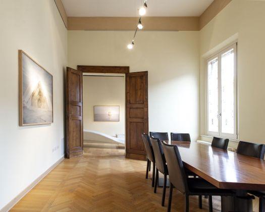 """Silvia Camporesi. Mirabilia. """"Il bello è nella natura"""". Exhibition view at MLB home gallery, Ferrara 2018. Photo Giulia Nascimbeni"""