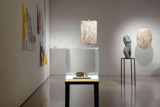 Silvia Giambrone. Il danno. Exhibition view at Studio Stefania Miscetti, Roma 2918. Photo Giordano Bufo © Studio Stefania Miscetti