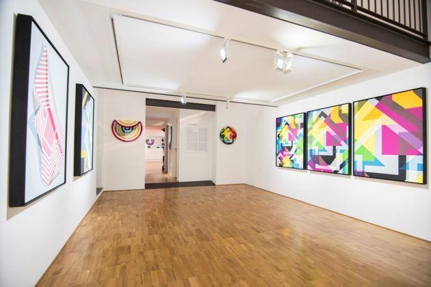 Tavar Zawacki. Shapeshifting. Installation view at Wunderkammern Gallery, Milano 2018. Courtesy Wunderkammern Gallery