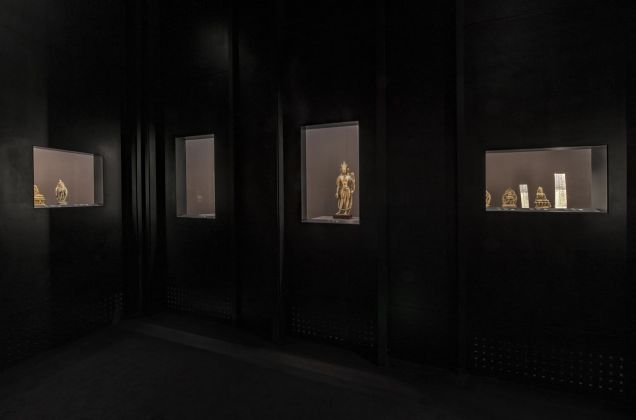 The Light of Buddha. Installation view at The Palace Museum, Beijing 2018