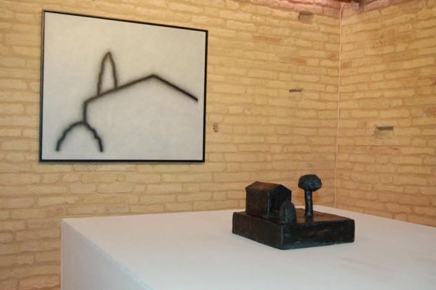 Tomav, interno - Tino Stefanoni, solo show Sublimazione 2011