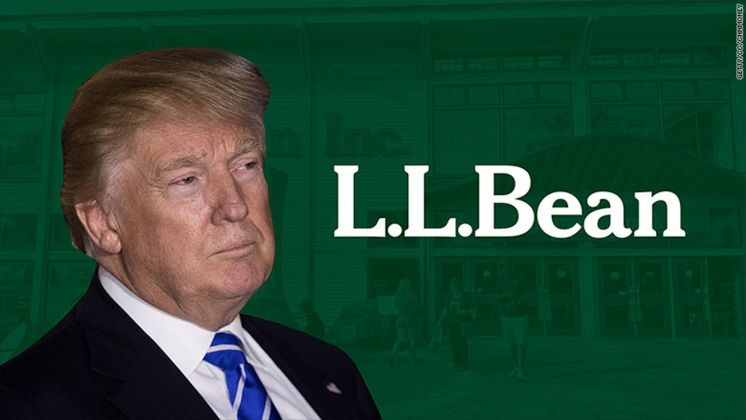 Trump e L.L.Bean
