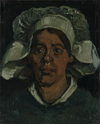 Vincent van Gogh, Head of a Woman Wearing a White Cap, November 1884–May 1885 © Kröller Müller Museum photo Rik Klein Gotink
