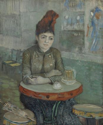 Vincent van Gogh, In the Café Agostina Segatori in LeTambourin, January–March 1887, Van Gogh Museum, Amsterdam (Vincent van Gogh Foundation)