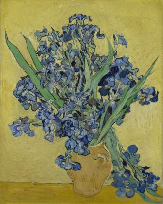 Vincent van Gogh, Irises, May 1890, oil on canvas, Van Gogh Museum, Amsterdam (Vincent van Gogh Foundation)