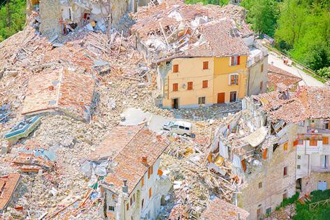 Olivo Barbieri, site specific, MARCHE17 Arquata del Tronto, Ascoli Piceno 2017