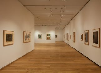 MENIL DRAWING INSTITUTE Louisa Stude Sarofim Building, Brown Foundation Gallery featuring The Condition of Being Here: Drawings by Jasper . Ph by Richard Barnes. All Images Courtesy the Menil Collection, Houston