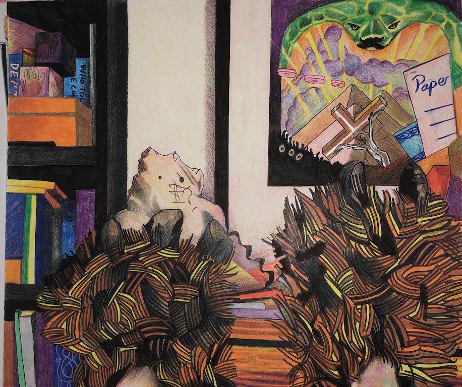 Keren Cytter, Beast Slippers, 2018. Courtesy of the artist