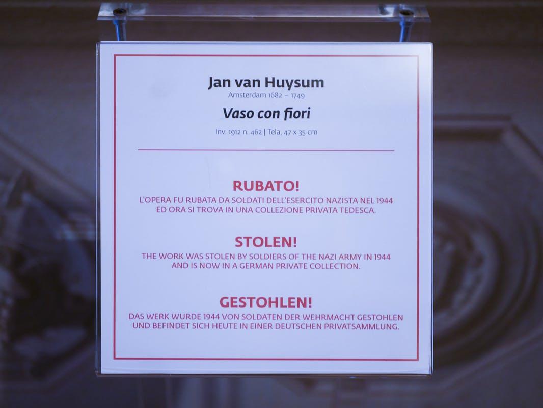 L'atto di denuncia del direttore degli Uffizi Eike Schmidt. Courtesy Galleria degli Uffizi