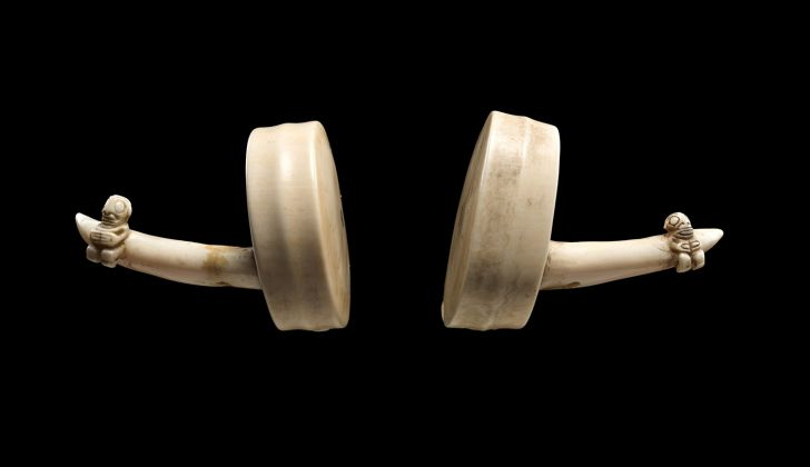 Ivory Ear Ornaments (Hakakai), Early 19th century, Marquesas Islands, Whale ivory, The Metropolitan Museum of Art, The Michael C. Rockefeller Memorial Collection, Bequest of Nelson A. Rockefeller, 1979