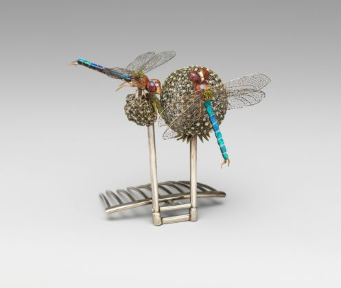 Hair Ornament Louis Comfort Tiffany (American, New York 1848–1933 New York) ca. 1904 Made in New York, New York, United States, The Metropolitan Museum of Art, Gift of Linden Havemeyer Wise, in memory of Louisine W. Havemeyer, 2002