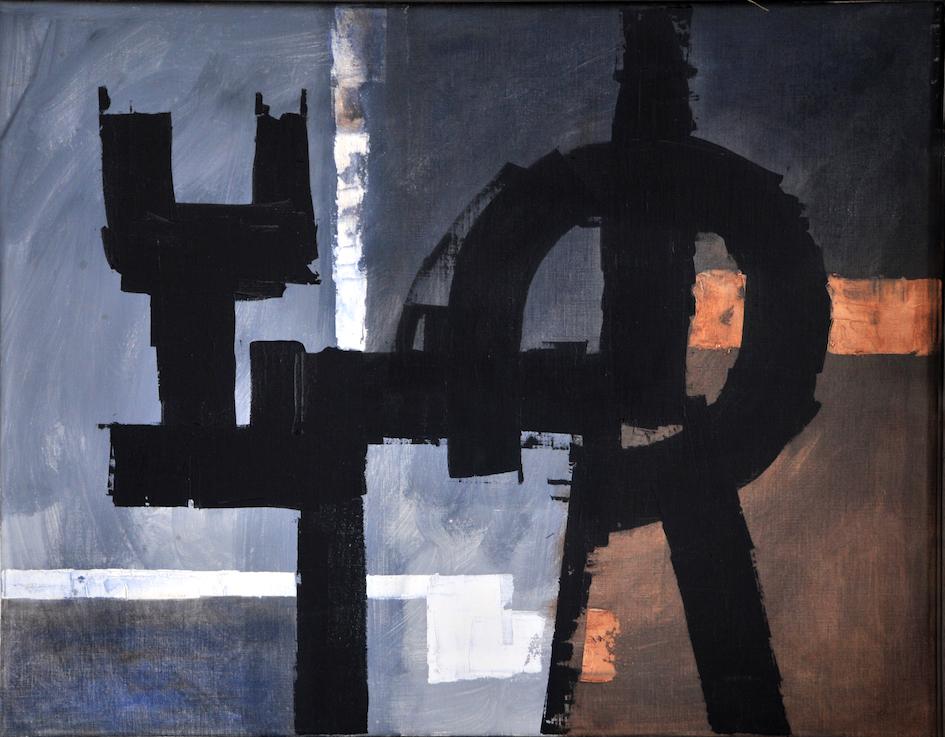 Luigi Pericle, The March of Time X, Matri Dei d.d.d., 1963, Tecnica mista su tela, 51 x 65 cm