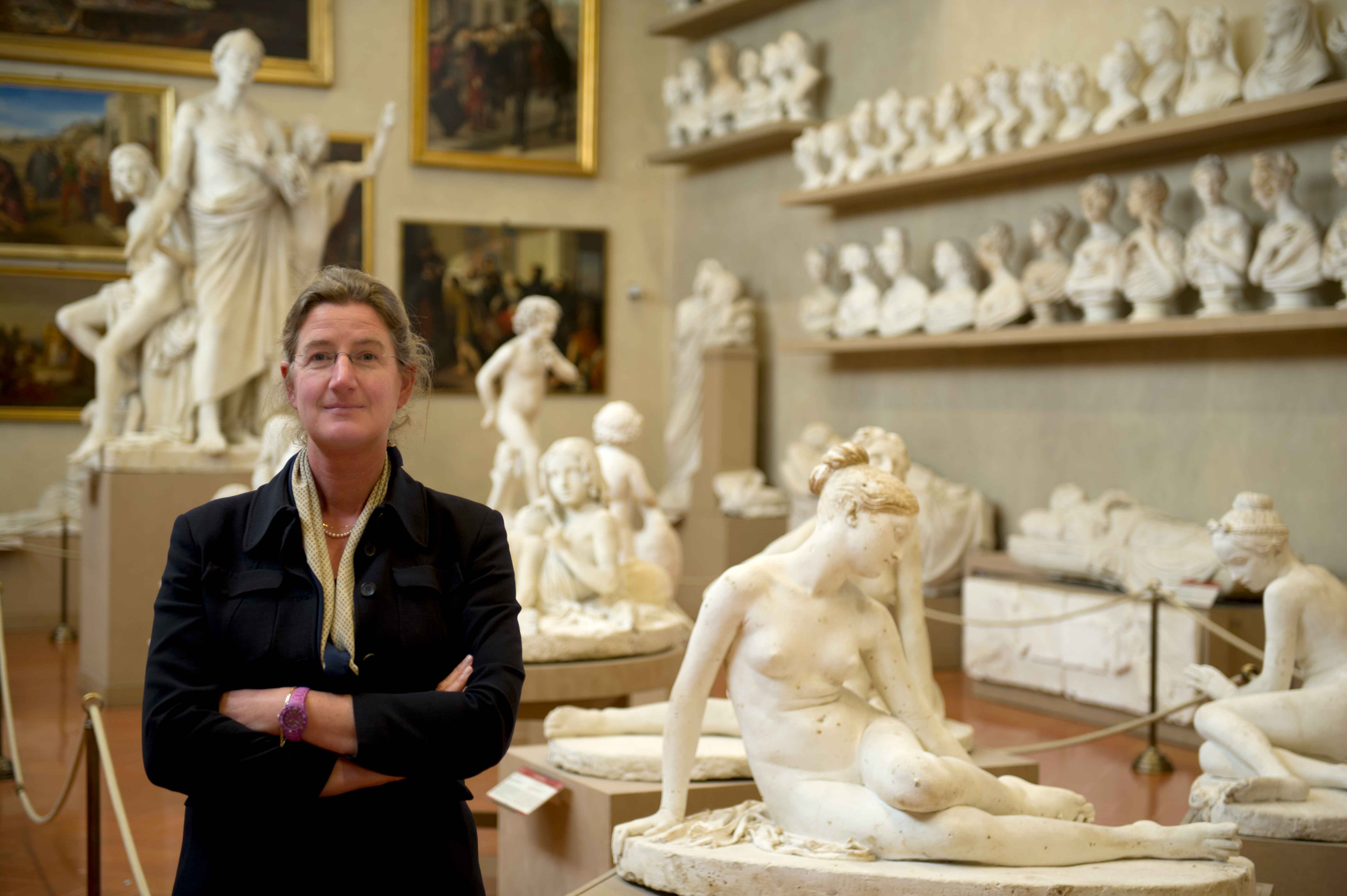 Cecilie Hollberg, ex Direttore Galleria dell'Accademia di Firenze. Courtesy Galleria dell'Accademia