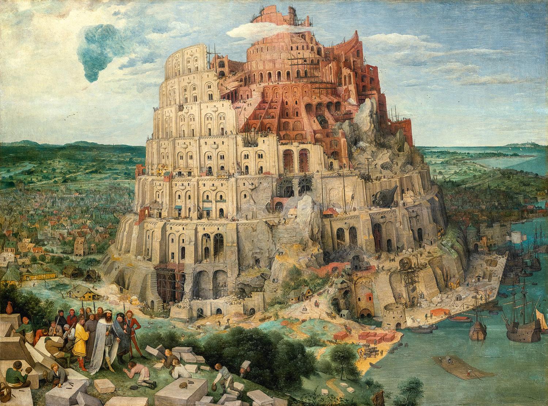 Pieter Bruegel il Vecchio, Torre di Babele © KHM Vienna