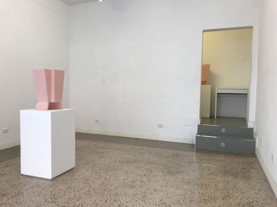 Alberto Garutti. Sehnsucht. Installation view at Zoo Zone Art Forum, Roma 2018