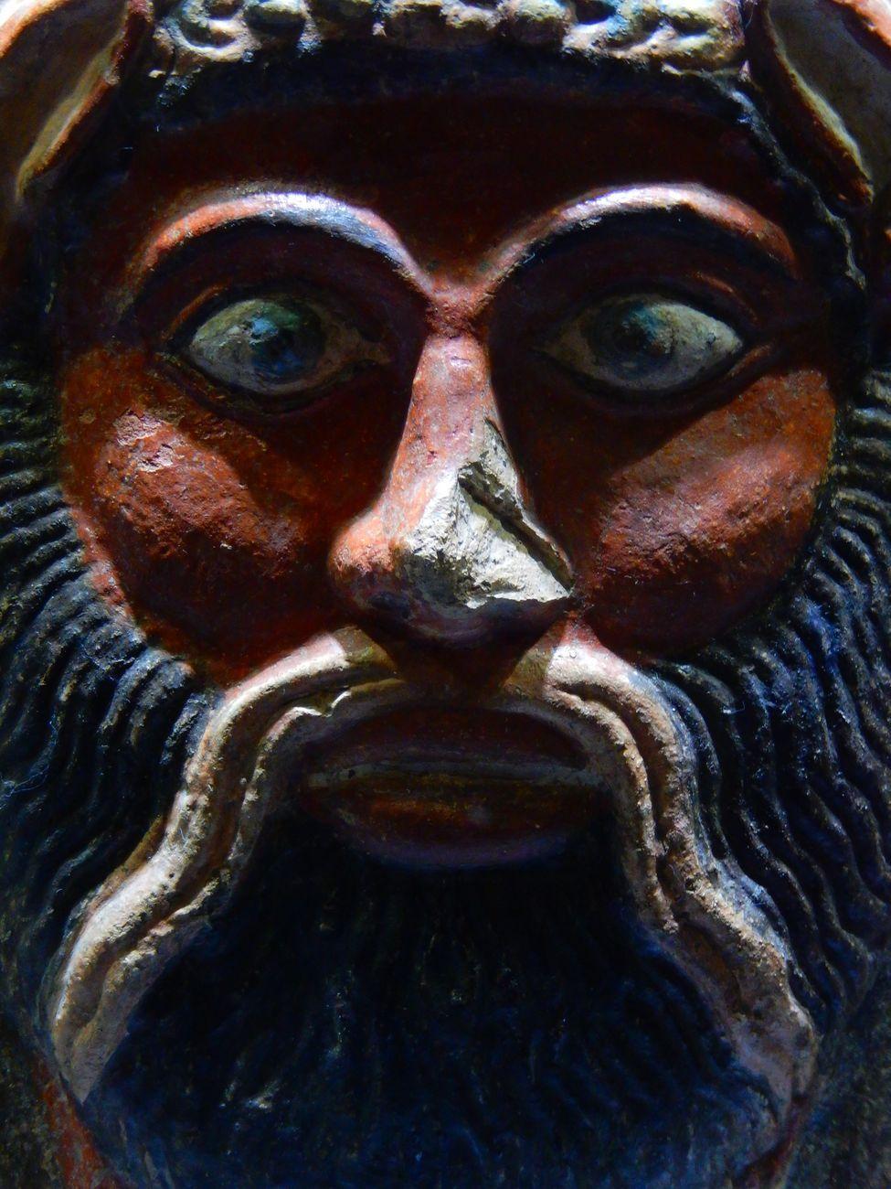 Calendario Ac Perugia.Antefissa A Testa Di Satiro Da Perugia Iv Secolo A C